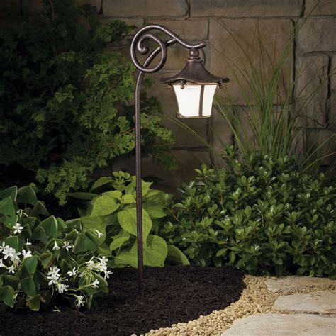 Landscape Path Lighting Cotswold Aged Bronze 25 Inch One Light Landscape Path Light Kichler Path Landscape