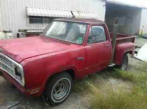 buy used 1979 dodge d100 lil express truck no reserve