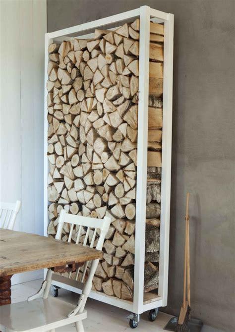diy firewood rack pipe 24 id 233 es d 233 co pour ranger les b 251 ches