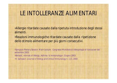 alimenti liberano istamina intolleranze alimentari workshop alcat test dr