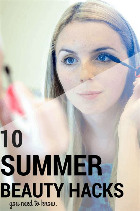 10 best summer beauty hacks and tips