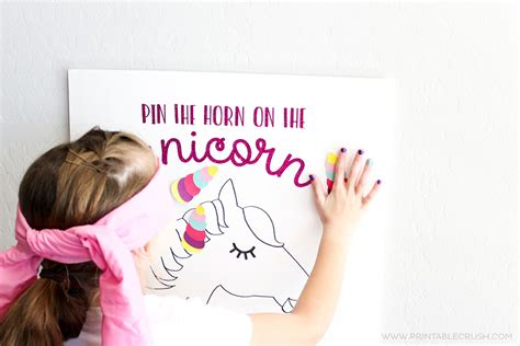 printable unicorn party games free unicorn party printables and cut files printable crush