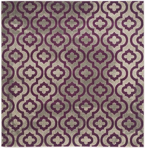 safavieh porcello rug safavieh porcello grey purple polypropylene area rugs
