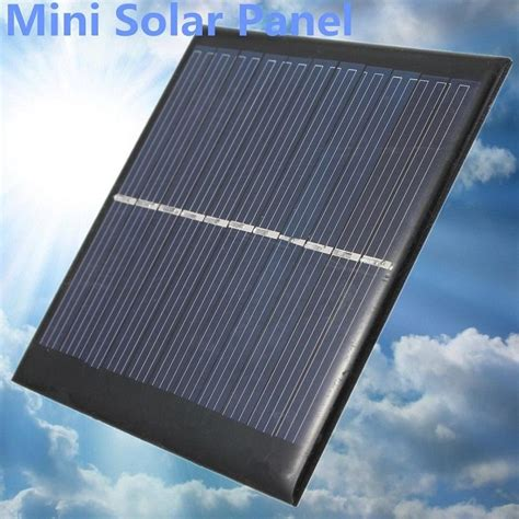diy residential solar power high quality 6v 1w solar power panel bank solar system module home diy for light battery cell