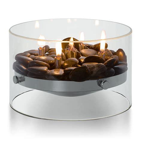 terrassenfeuer gas selber bauen tischkamin glas steine 216 23 cm philippi