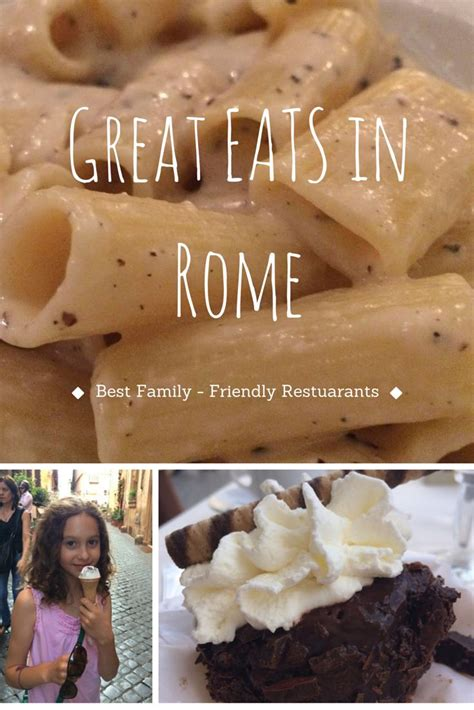 best family restaurants in rome 1110 best images about family travel on trips