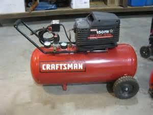 Craftsman 3 Gallon Air Compressor Craftsman 3 Hp 15 Gal 150 Psi Air Compressor