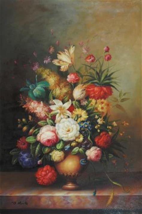 de laares bloemen es prijs schilderij stilleven schilderij van een stilleven met een