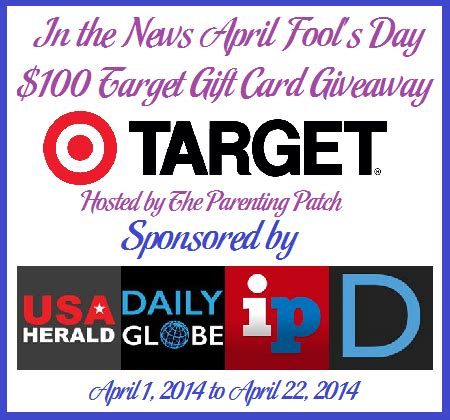 Target Gift Card Help - april fool s day giveaway for a 100 target gift card