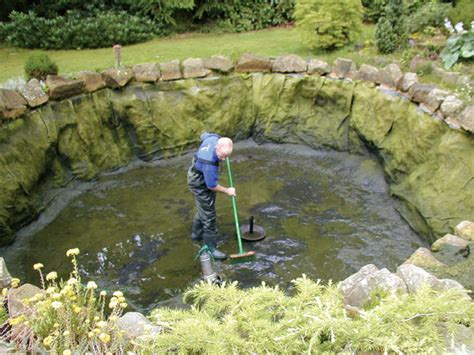 how to clean a backyard pond pond cleanout proceedure k o i