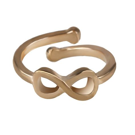 fashion toe ring simple infinity open adjustable