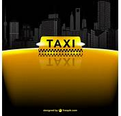 Taxi Vector Template  Free Download