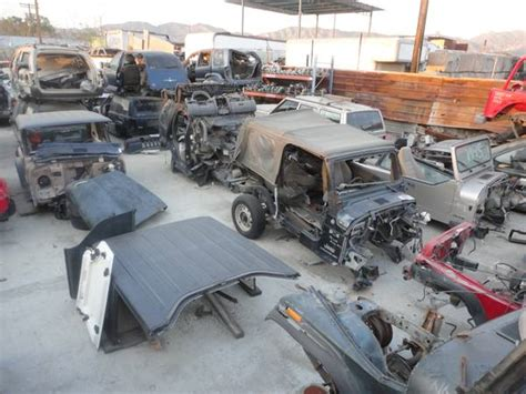 Jeep Junkyard Parts Used Or Salvage Ewillys