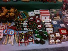 Goodies Handmade Candies - our craft fair table on craft fair table