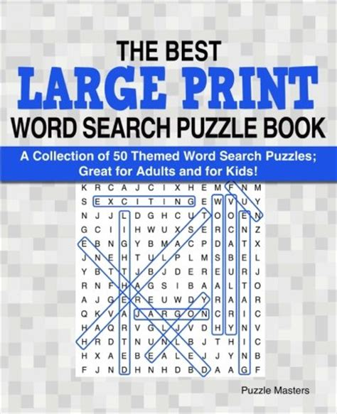 the best large print word search puzzle book a collection