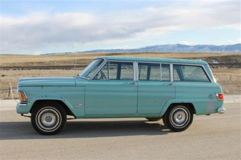 1971 jeep wagoneer buy used 1971 jeep wagoneer 62k original 350 buick