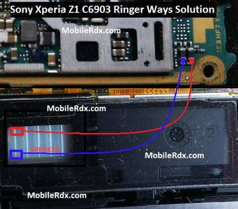 sony xperia   ringer ways speaker problem solution