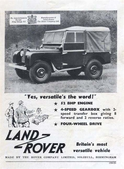 vintage land rover ad 31 best vintage images on land rovers land