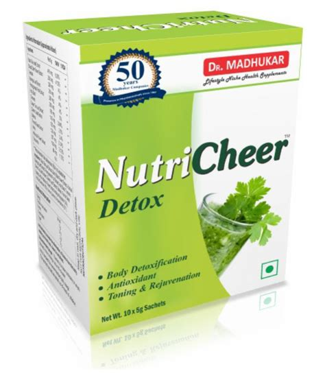 Detox India by Nutricheer Detox Powder 5 Gm Buy Nutricheer Detox Powder