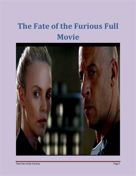 fast and furious 8 quando uscira watch fast and furious 8 cast and crew full movie
