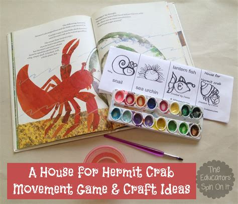 A House For Hermit Crab Lesson Plans A House For Hermit Crab Lesson Plans