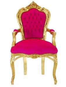 stuhl gold esszimmer st 252 hle esstisch stuhl sessel barock antik pink gold