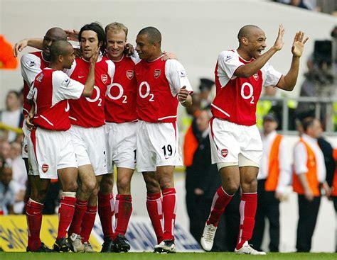 arsenal unbeaten jdt matches arsenal s invincibles goal com