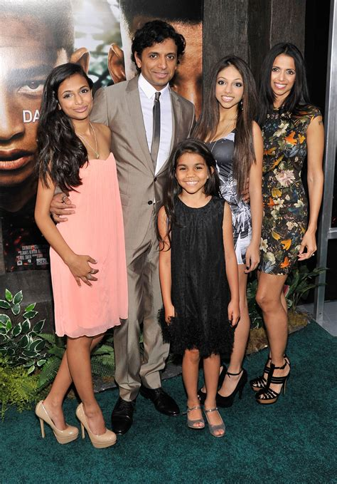 M. Night Shyamalan and Family | After Earth Premieres in ... M Night Shyamalan Family