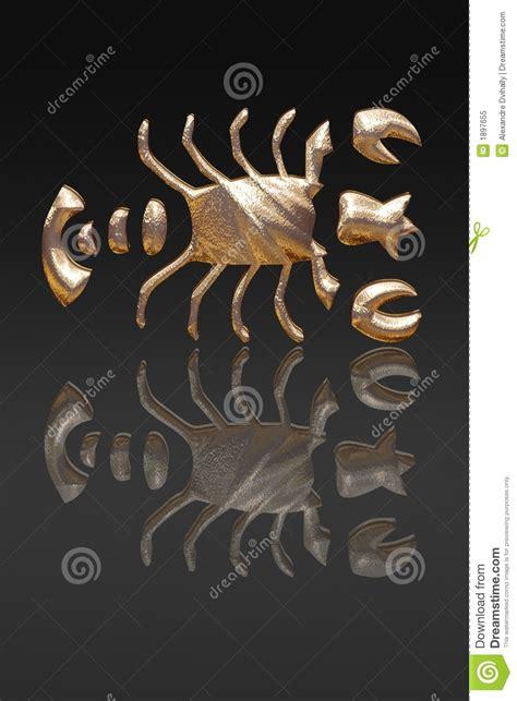 horoscope zodiac gold metal royalty free stock photo
