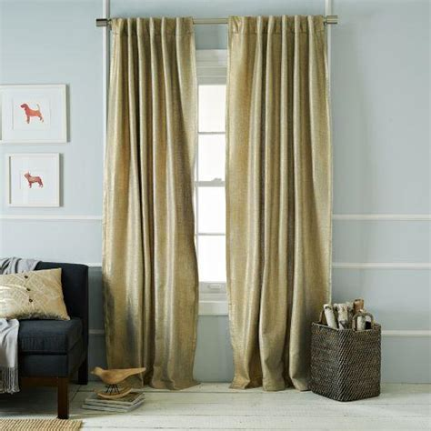 Metallic Gold Curtains Gold Metallic Basketweave Curtain