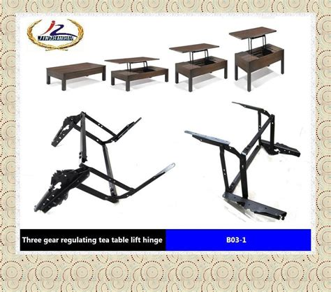 Table Parts by Table Parts With Pop Up Function Laptop Table Parts Convertible Coffee Table Mechanism B03 1