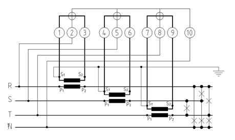 ct metering wiring diagram transformer connection diagrams