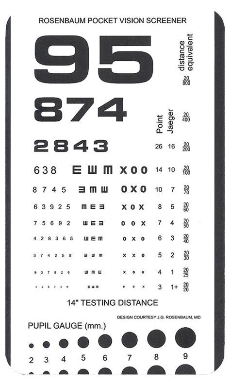 printable pediatric snellen eye chart pocket snellen eye chart printable hairsstyles co