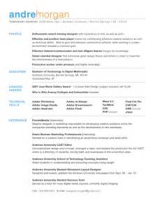 Resume Template S by Cv Format Design Cv Templates Cv Sles Exle