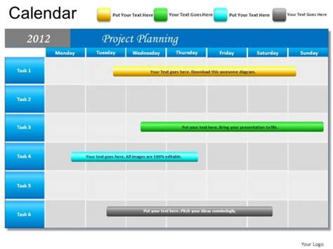 Calendar Ppt Template calendar templates for powerpoint calendar template 2016
