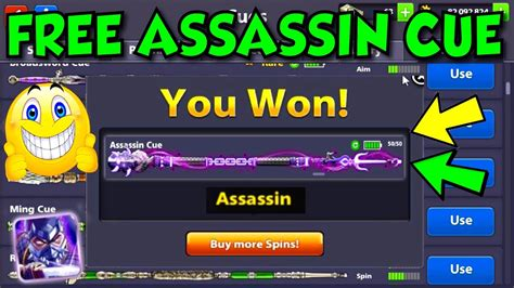 8 Ball Pool Giveaway - how to get the assassin cue for free in 8 ball pool giveaway no cue hackglitchcheat