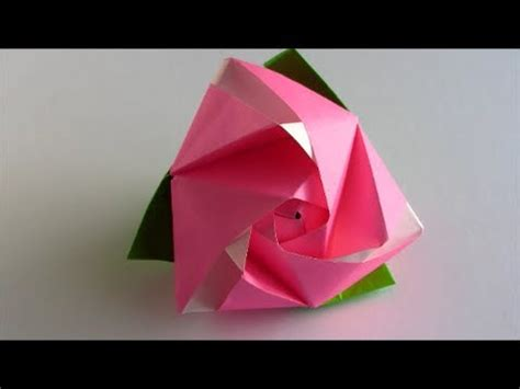 Magic Cube Origami - origami magic cube how to assemble and use the