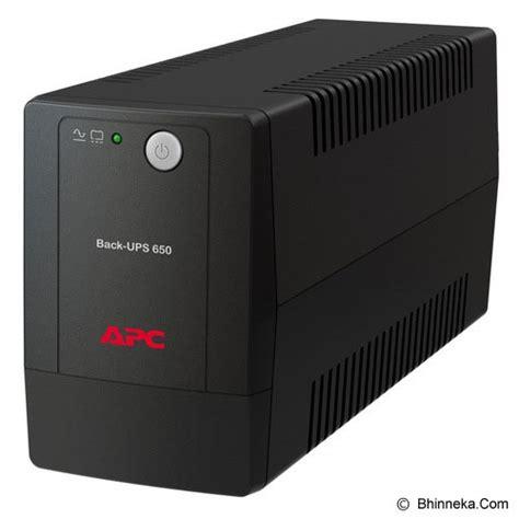 Promo Hari Ini Apc Bx650li Ms Ups 650va jual apc bx650li ms ups power backup stabilizer genset murah