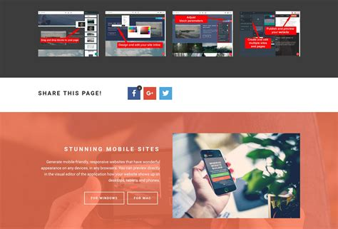 html design builder drag and drop easy website builder tool
