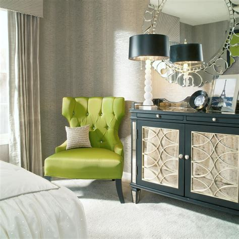 Green Bedroom Chair | photos hgtv