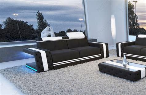 ecksofa mit led beleuchtung designer sofa