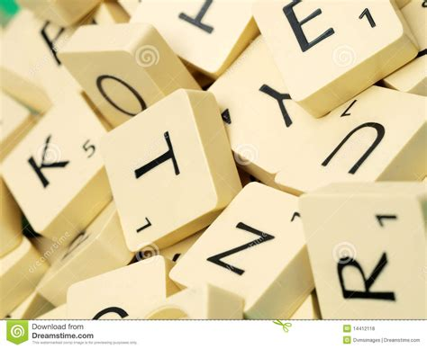 scrabble up scrabble letters up royalty free stock photos