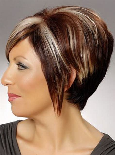 wedge shape hair styles hairstyles for straight short hair and a fat face