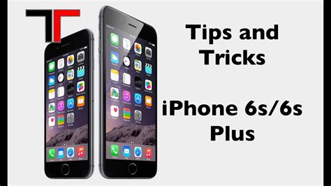 and tricks for the iphone 6s 6s plus