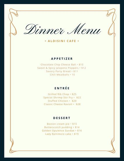 Fancy Dinner Menu Template maroon gold leaves border winery menu templates by canva