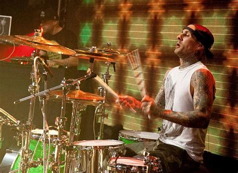 Travis Barker I Tongue Kissed Before by Travis Barker And Yelawolf Ring In The New Year At