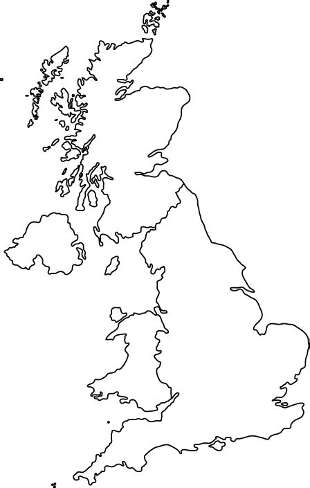 template of uk map printable blank map of the uk free printable maps