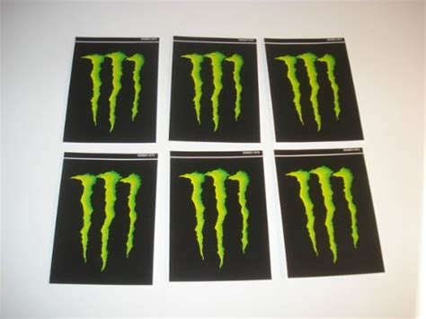 Monster Energy Army Sticker by 10 Each Decals Nitro Monster Army Monster Dakine Fox 10