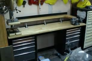 Garage Organization Workbench Garage Workbench With Drawer Storage Easily Converted To