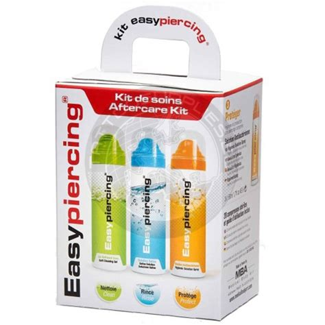 easy tattoo care kit easypiercing healing kit complete kit for medication and